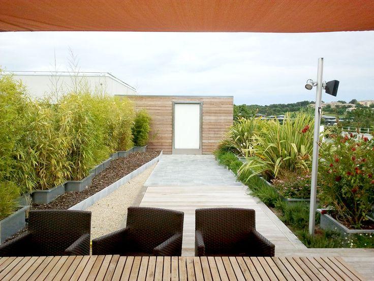 12 best Terrasses Paysagers Design images on Pinterest Airplanes - drainage autour d une terrasse