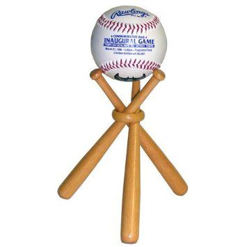 Amazon.com: Miniature Wooden Baseball Bats - Display Stand: Arts, Crafts & Sewing