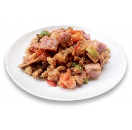 Salade jambon Linéadiet (minceurmoinscher.com) Salade parisienne hyperprotéinée prête à l'emploi  Envie d'une salade complète et savoureuse sans culpabilité pour votre régime ? Découvrez cette salade parisienne hyperprotéinée et ses morceaux gourmands de jambon supérieur, de petits légumes et de pâtes protéinées. Un repas équilibré et léger idéal pour vos déjeuners et dîners au quotidien, et qui peut s'emmener partout. Un plat à découvrir dès maintenant pour être prête d'ici l'été !