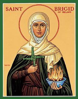 Despite the fact that I am of half-Irish descent, I never knew much about St. Brigid, one of the patron saints of Ireland, until I had my own children. In fact, it was not until I ran into the picture book titled Brigid's Cloak that I really took note of this child-friendly saint. Since then, …