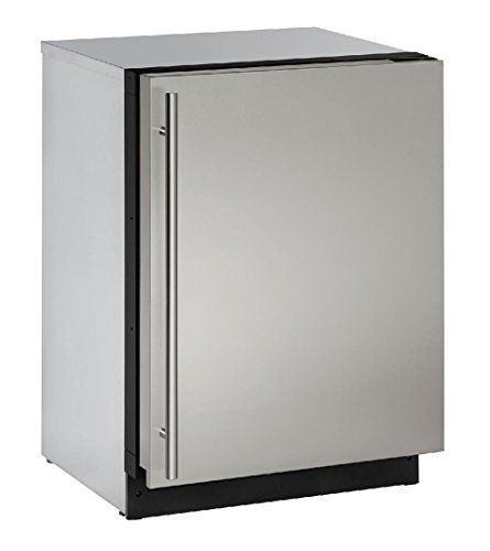 """U-Line U3024RS00B Modular 3000 Series 24"""" Built In Compact Refrigerator with 4.9 cu.ft. Capacity, (Stainless Steel) *** Read more at the image link. #CompactRefrigerators"""