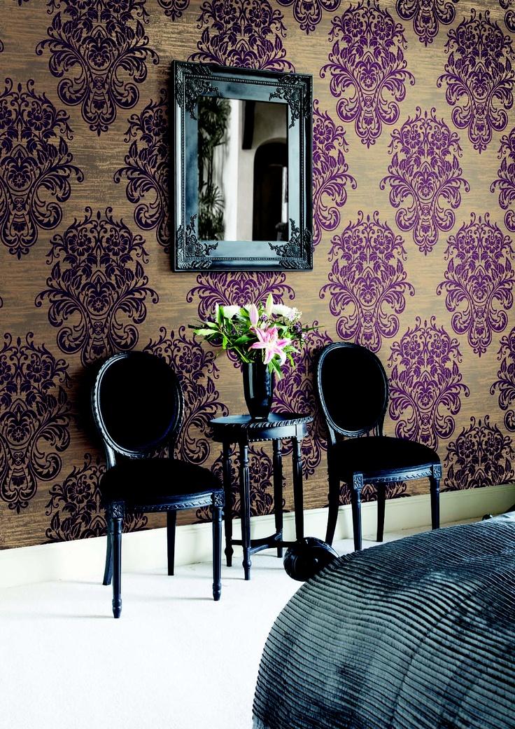 Bedroom Ideas Damask 38 best damask images on pinterest | damasks, damask wallpaper and