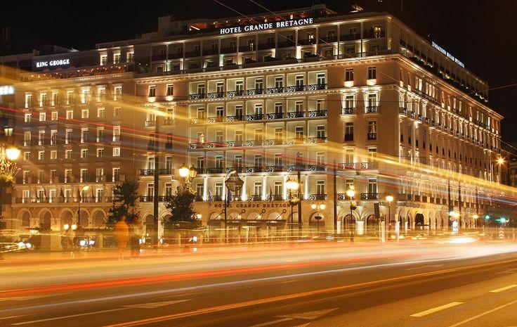 Athens by night - Athens-Syntagma Square, Attiki