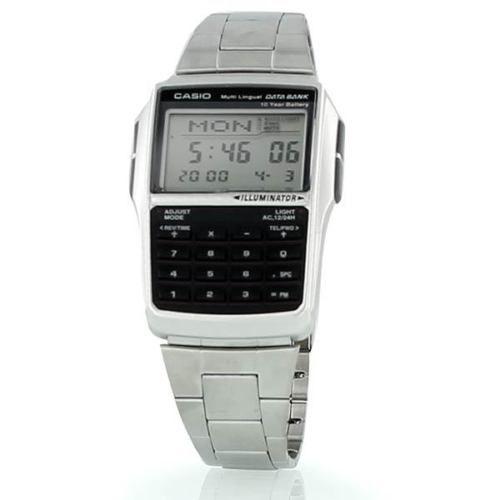 NEW CASIO DATABANK CALCULATOR METAL WATCH DBC32D-1 | eBay