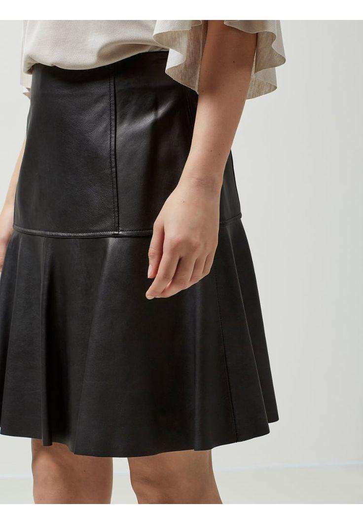 Selected Femme A-snit nederdel/ A-formede nederdele - black - Zalando.dk