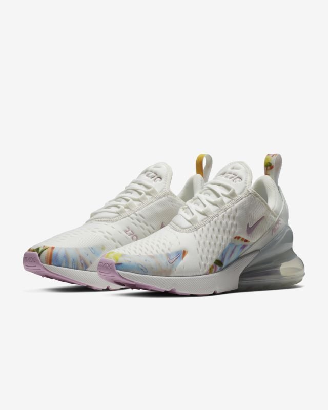 9bfae53723d Nike Air Max 270 Premium Summit White/Pure Platinum/Light Arctic Pink