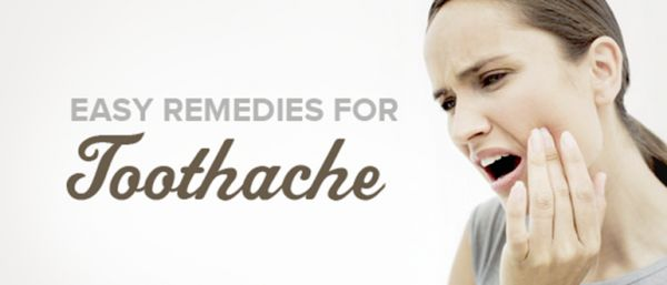 The Most Efficient Natural Remedies For Toothache