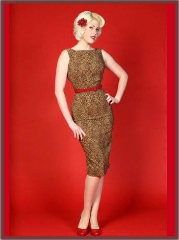 40's (love pinup dresses): Wiggle Pencil, Style, Leopards Prints Dresses, Bettie Page, Wiggle Dresses, Tatyana Pencil, Betty Pages, Leopard Prints, Pencil Dresses