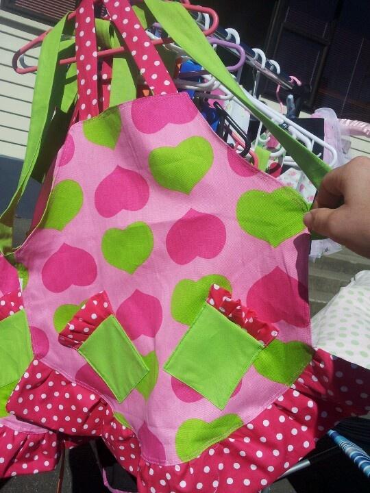 Girls apron
