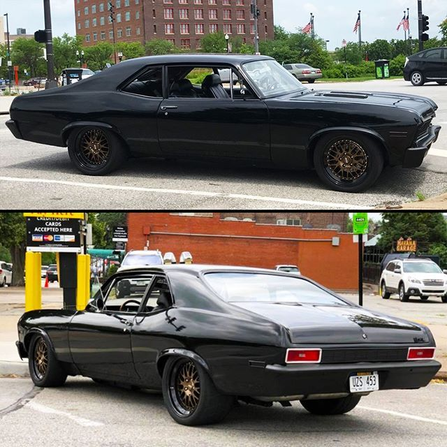 Customers 1970 Chevy Nova On Ccw Forged Wheels 3 Piece Lm20 Wheels 18x8 Up Front And 18x11 In The Rear 1 480 966 3040 Sales Chevy Nova Chevy Chevrolet Nova