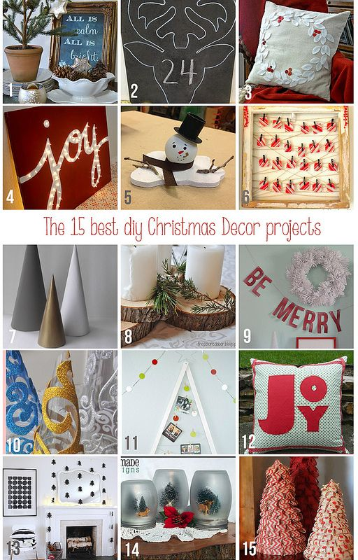 15 Best DIY Christmas Projects | Home Coming