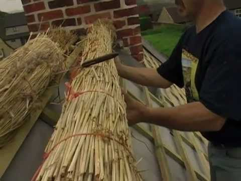 Thatching Series (detailed) - Ridge Rolls