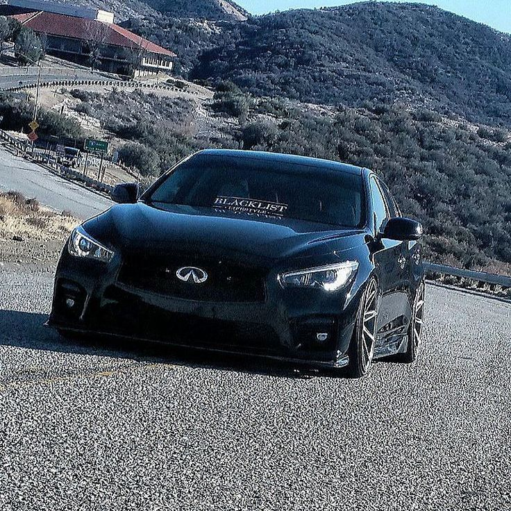 Let's finish off with #frontendfriday with the #ZillaQ50 ... Sleeper in Looks and built with speed and precision with no cut corners... #Fastcars #Q50s #superchargedq50 #Blacklist #blacklistlifestyle #infinitifamily #vqnation #vqfamily #infiniti #Q50 #Q50s #fansofinfiniti #chronicalsofprotege #loweredstandards #loweredlifestyle #alwaysbetonblack #blackcarsmatter #Flushfitment #verde #Teamcrzy by protege_q50s