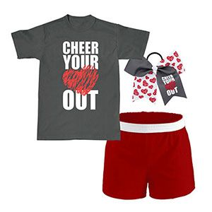 """CWPAX231 """"Cheer Your Heart Out"""" Campwear Package"""