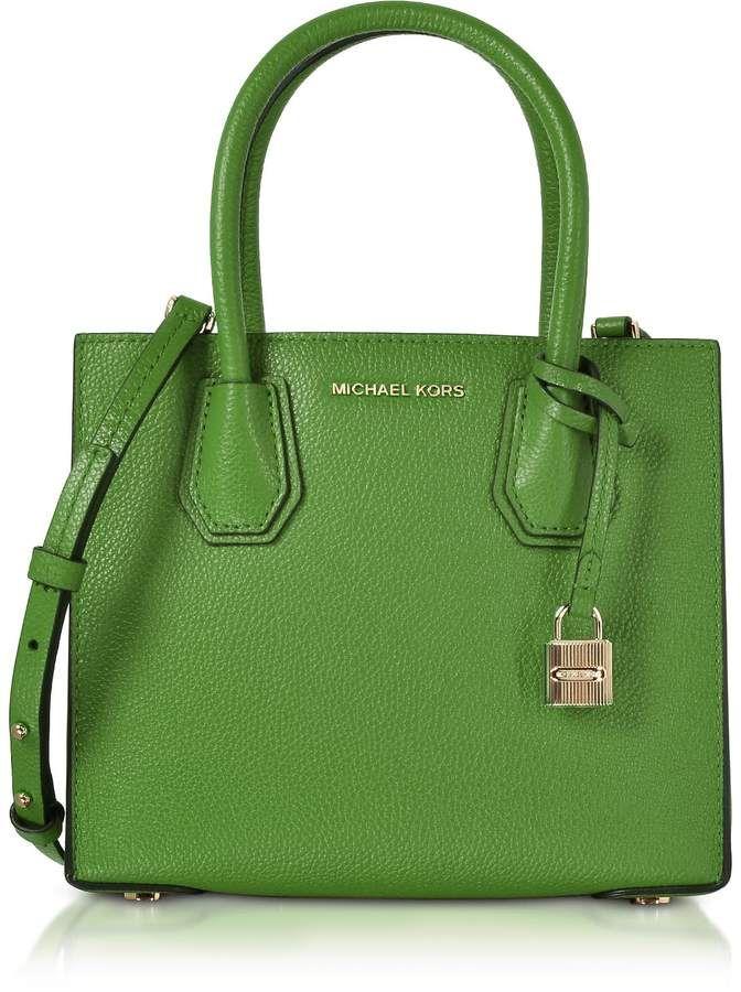 ddd89dcf6d Michael Kors Mercer Leather Crossbody Bag
