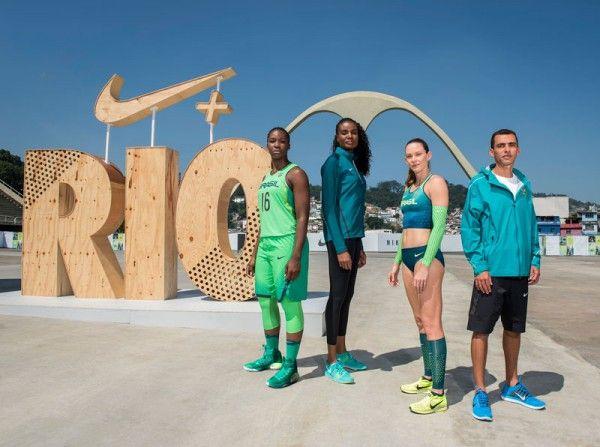 Uniformes do Time Brasil para as Olimpíadas