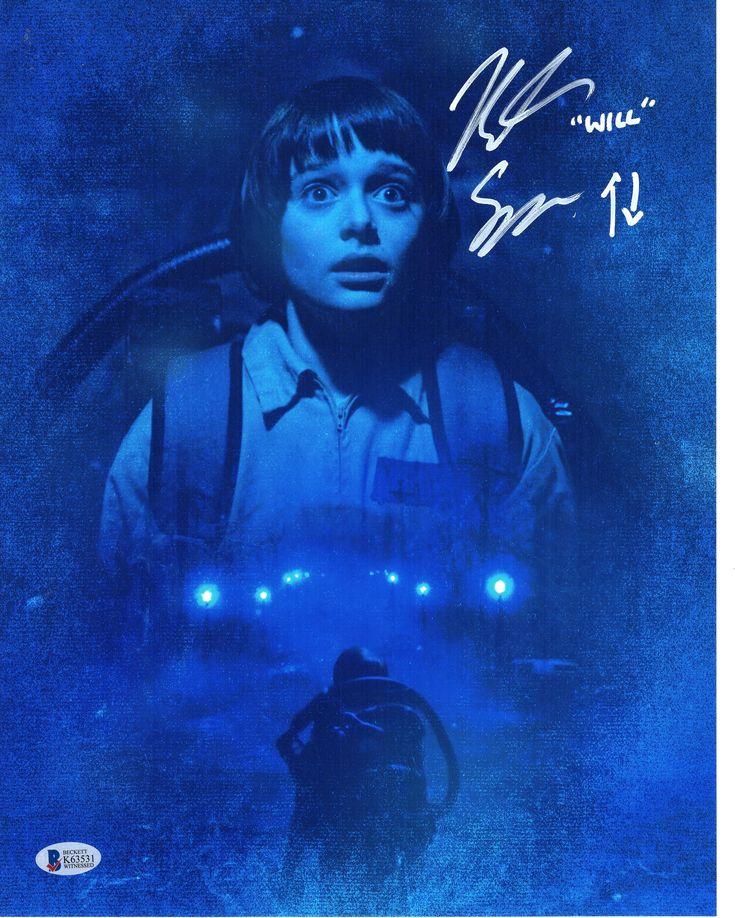 Noah Schnapp Signed 11x14 Photo Autograph WILL Stranger