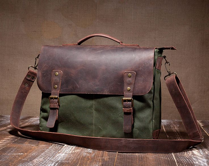 Mens Messenger Bag, Leather Messenger Bag, Canvas Messenger Bag by Tram21 on Etsy https://www.etsy.com/ca/listing/260700509/mens-messenger-bag-leather-messenger-bag