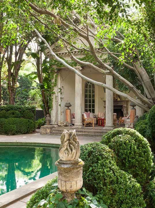 17 best images about interior designer richard shapiro on for Garden pool buildings