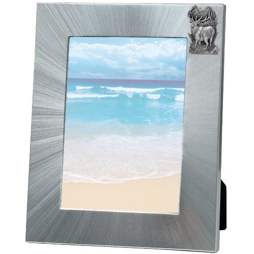 Elk 5x7 Photo Frame | Heritage Pewter