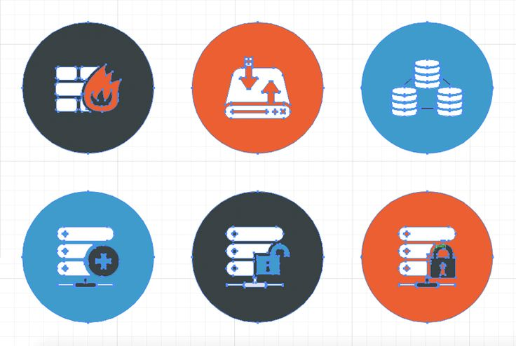 Freebie: Web Hosting & Technical Support Icons