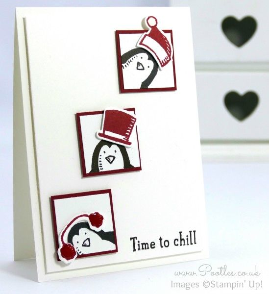 Stampin' Up! Demonstrator Pootles - Snow Place and Friends Penguin Card