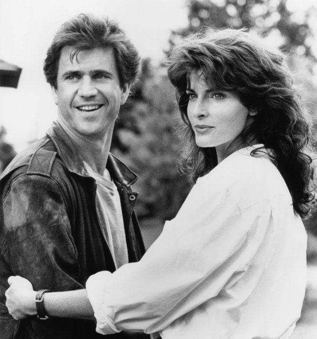 """Mel Gibson & Joan Severance in """"Bird on a Wire"""""""