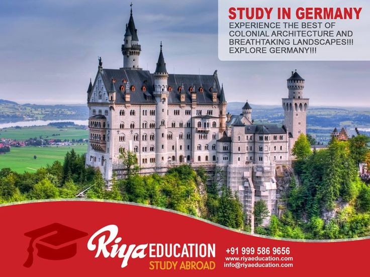 Study in Germany: Experience the Best of Colonial Architecture and Breathtaking Landscapes!!! EXPLORE GERMANY!!! Visit our website for contact details .