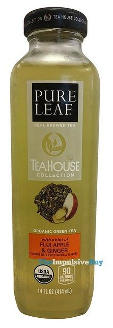Pure Leaf's Tea House Collection Organic Green Tea with a Hint of Fuji Apple & Ginger