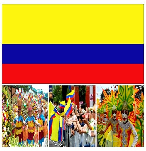 Public National Holidays in Colombia #stepbystep