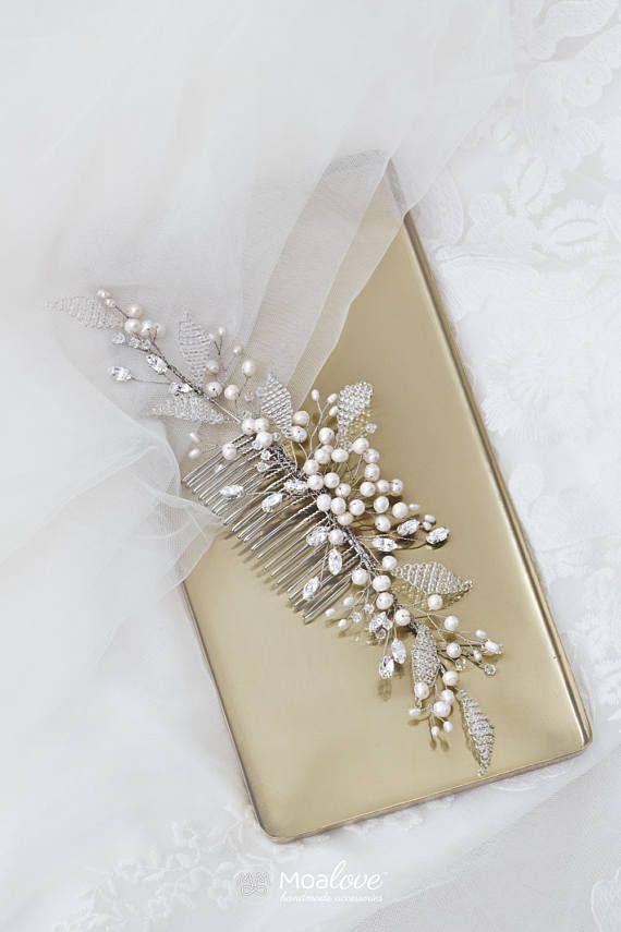 Bridal Headpiece  Wedding Hair accessory  Bridal comb