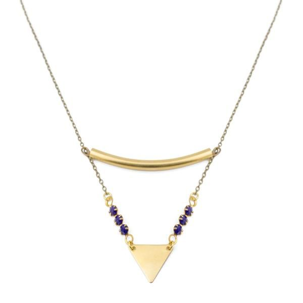 L'Oreille Absolue – sautoir petit triangle
