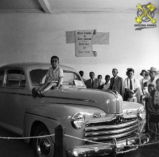 1946 Festa de Inauguração – antiga Agência Ford Itararé SP