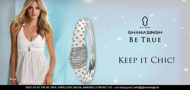This sparkling bracelet will definitely turn heads just as you walk in and doesn't cost the earth either. #SummerDressing #Jewellery #Fashion
