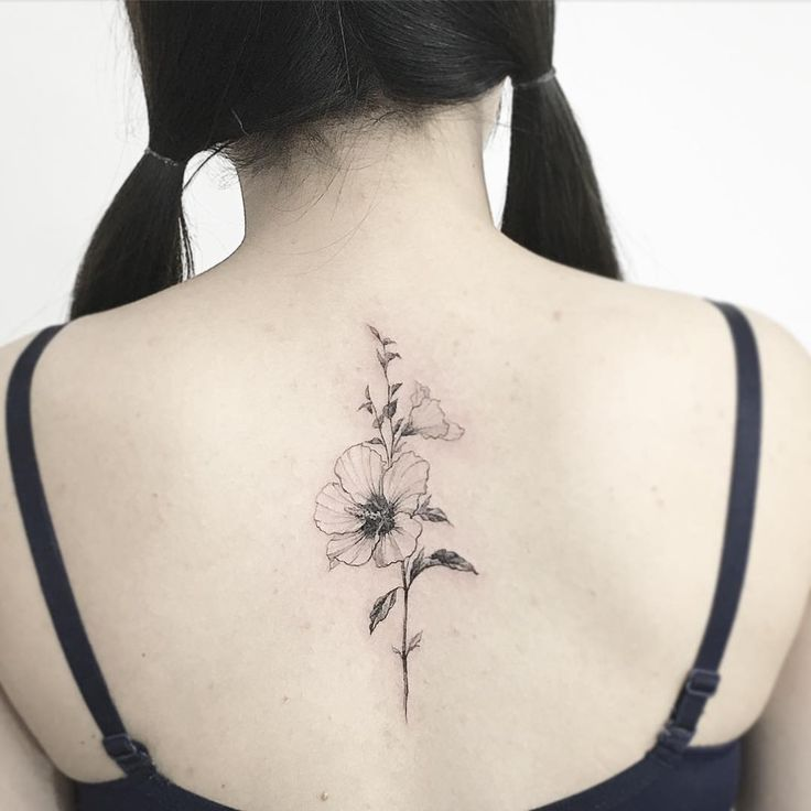 #tattoo#tattoos#tattooing#tattoowork#tattooart#flowertattoo#blackwork#art#artist#타투#꽃타투#무궁화타투#타투이스트꽃#tattooistflower Mugunghwa