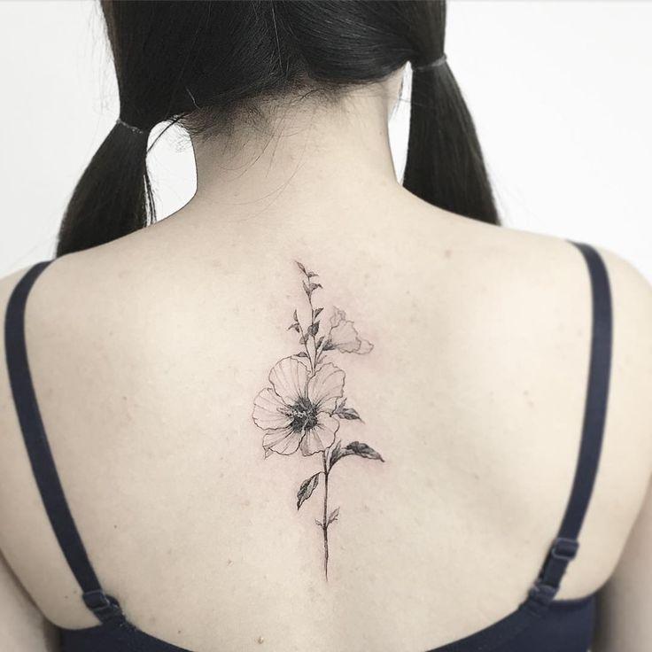 #tattoo#tattoos#tattooing#tattoowork#tattooart#flowertattoo#blackwork#art#artist#타투#꽃타투#무궁화타투#타투이스트꽃#tattooistflower Mugunghwa