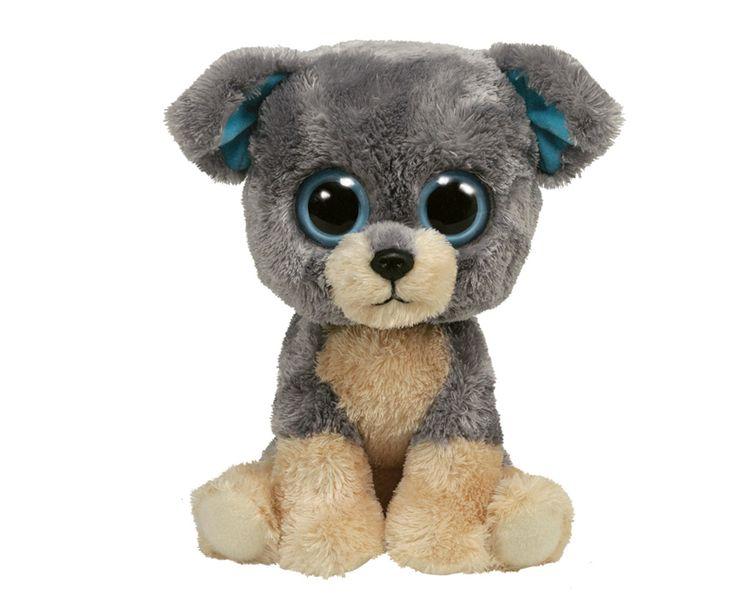tiger ty toy   Ty-Beanie-Boos-Glubschi-Plueschtiere-Scraps-Hund-8-5-cm-24-cm