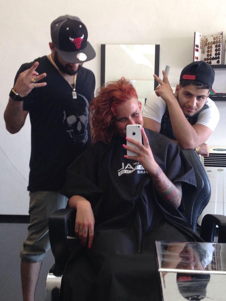 Work day at the barbershop Barbers On tour whit Barber_MD Barber_Melisz Barber_Ido