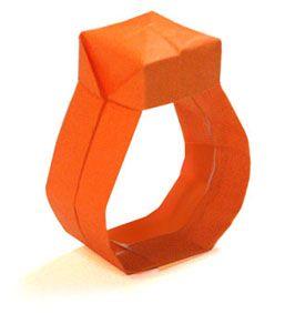 Origami Ring2