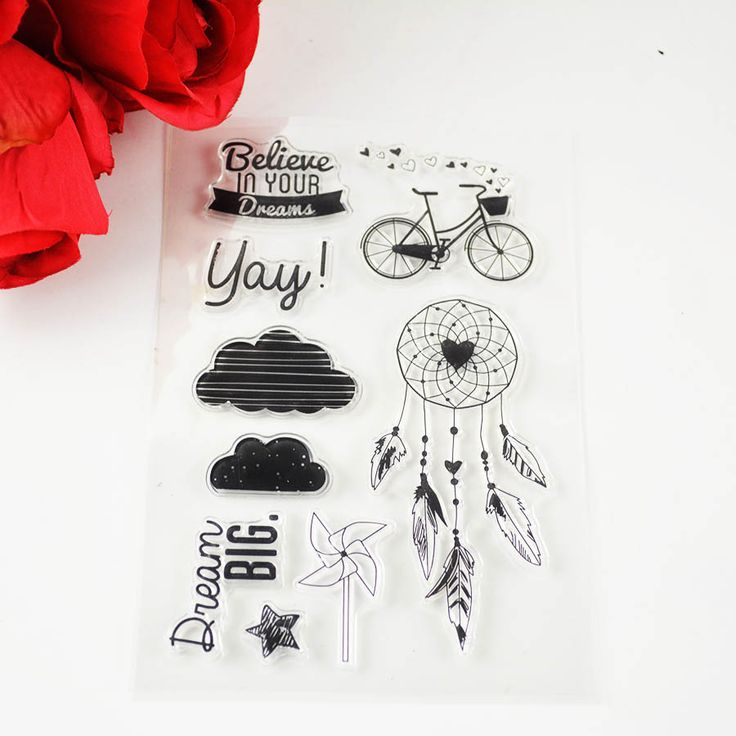 Find More Stamps Information about 1pc Clear Transparent Stamp TPR Believe in your dream DIY Scrapbooking/Card Making/Christmas Decoration Supplies,High Quality stamp wedding,China stamp cutter Suppliers, Cheap stamp pads for kids from YUGUO INDUSTRY AND TRADE LIMITED on Aliexpress.com