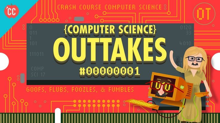 Crash Course Computer Science Outtakes(===================) My Affiliate Link (===================) amazon http://amzn.to/2n6MagF (===================) bookdepository http://ift.tt/2ox2ryU (===================) cdkeys http://ift.tt/2oUpFex (===================) private internet access http://ift.tt/PIwHyx (===================) In which Carrie Anne presents a new sing-a-long format and faces her greatest challenge yet - signing off an episode. Want to find Crash Course elsewhere on the…