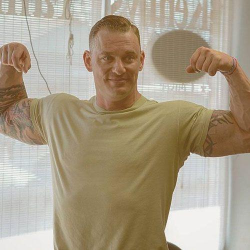 Marine Haircut For Men