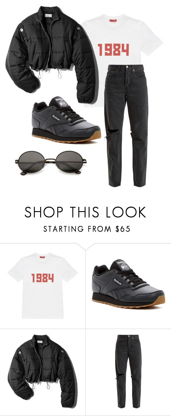 """""""outfit"""" by imnotwhatyouwant on Polyvore featuring moda, Gosha Rubchinskiy, Reebok, 3.1 Phillip Lim e RE/DONE"""