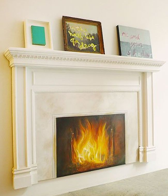 24 Best Faux Fireplaces Images On Pinterest Fire Places