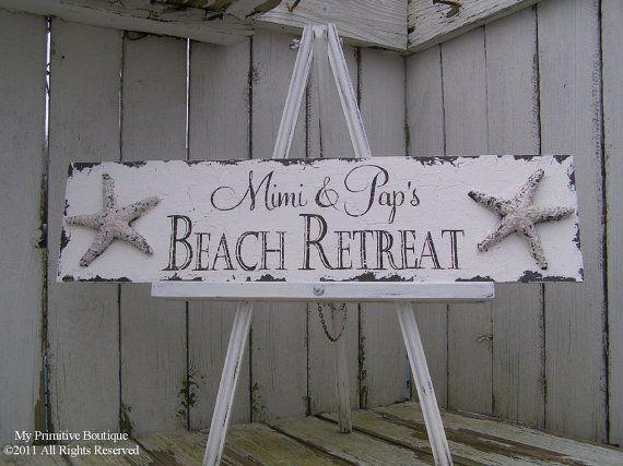 1000 Ideas About Vintage Beach Signs On Pinterest