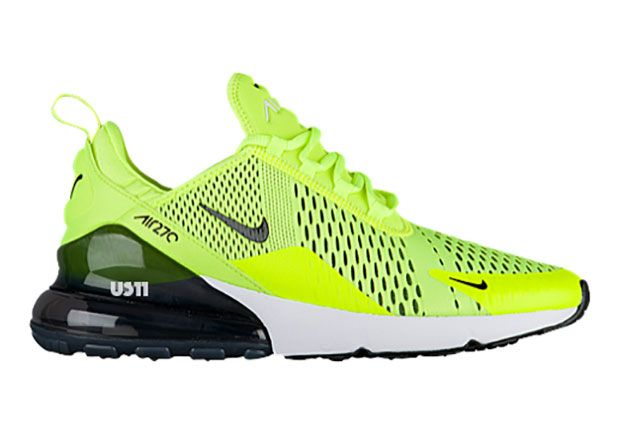 811b7b20c4902 Nike Air Max 270 - Volt Black