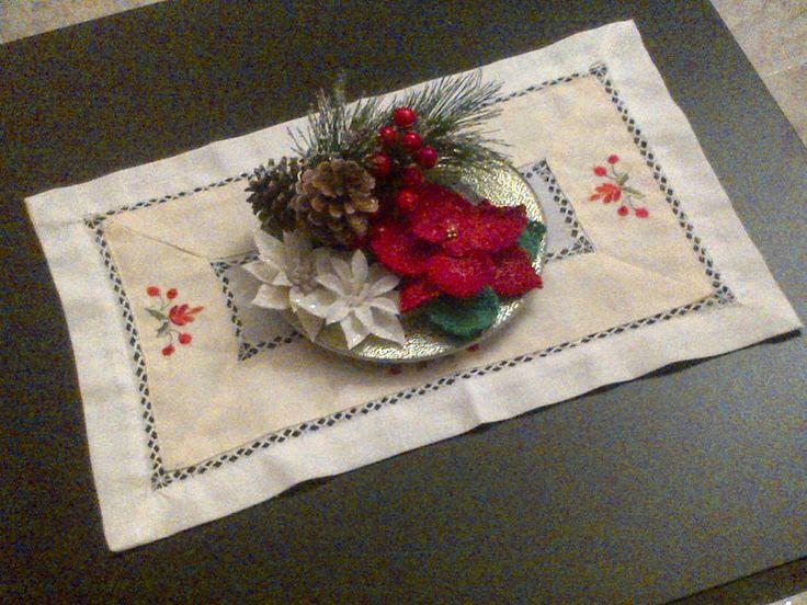 FantasyCreazioni: Centrotavola natalizio