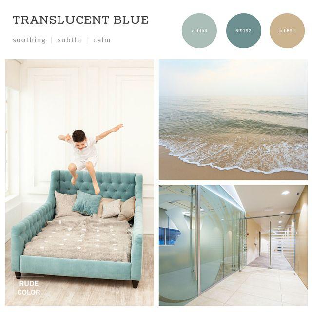 #2016 #color #trends #combinations #schemes #design #web #graphic #interior #architecture #inspiration #mood #board #collage #aqua #blue #glass