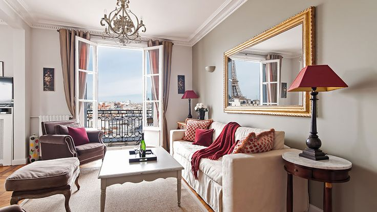Lovely Rent Our 2 Bedroom Apartment Cognac Near The Rue Cler Markets, Has A Large  Living Room With Two Sofa Beds And A Terrace With Eiffel Tower And Monumu2026