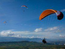 Paragliding in San Gil Santander